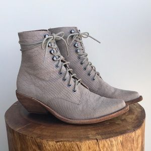 Jeffrey Campbell Lace-up Western Elmcroft Boot